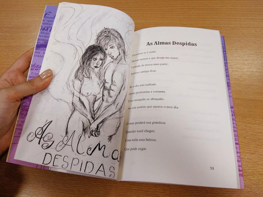Como foi organizar uma antologia de contos, crônicas e poemas com alunos 7