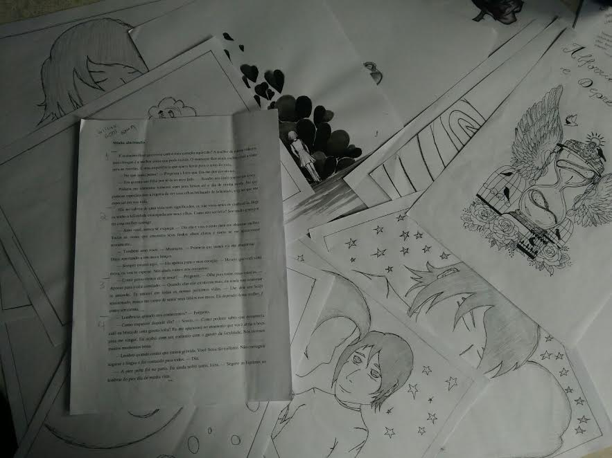 Como foi organizar uma antologia de contos, crônicas e poemas com alunos 2