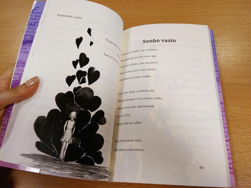 Como foi organizar uma antologia de contos, crônicas e poemas com alunos 4