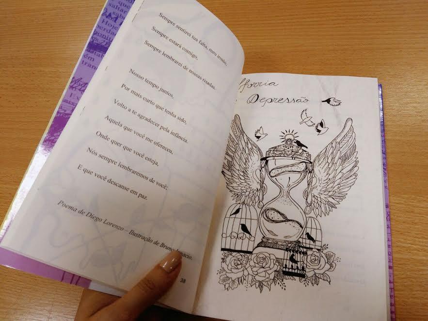 Como foi organizar uma antologia de contos, crônicas e poemas com alunos 5