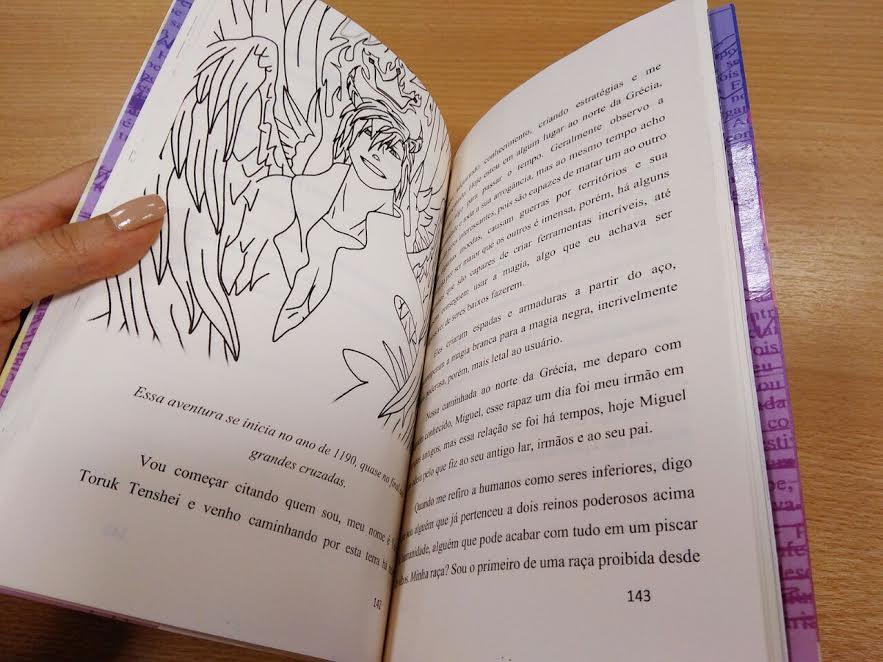 Como foi organizar uma antologia de contos, crônicas e poemas com alunos 6
