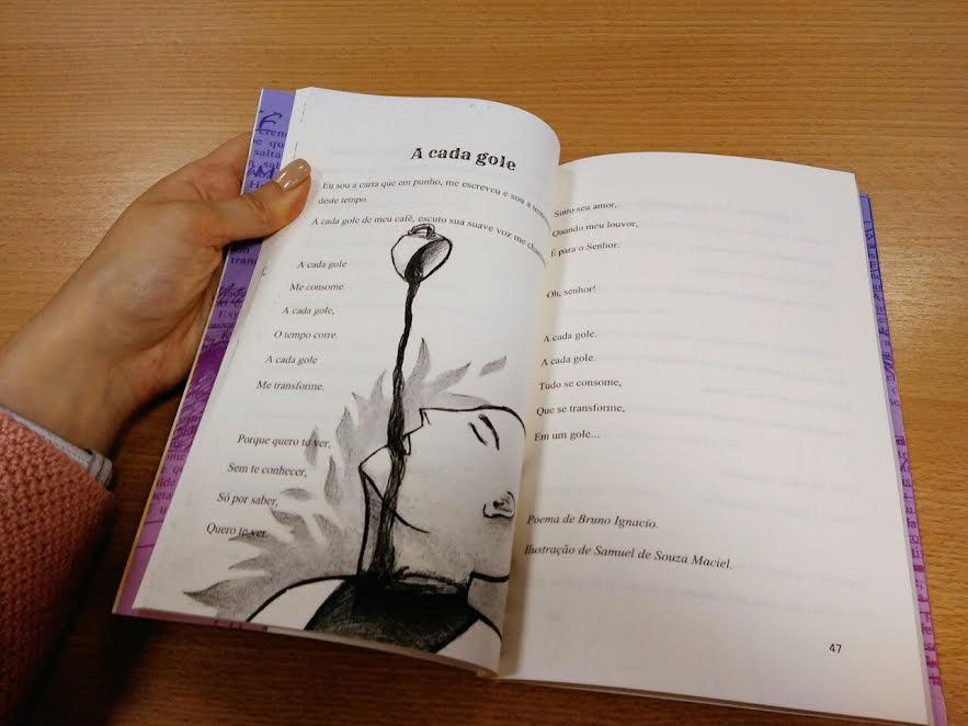 Como foi organizar uma antologia de contos, crônicas e poemas com alunos 8