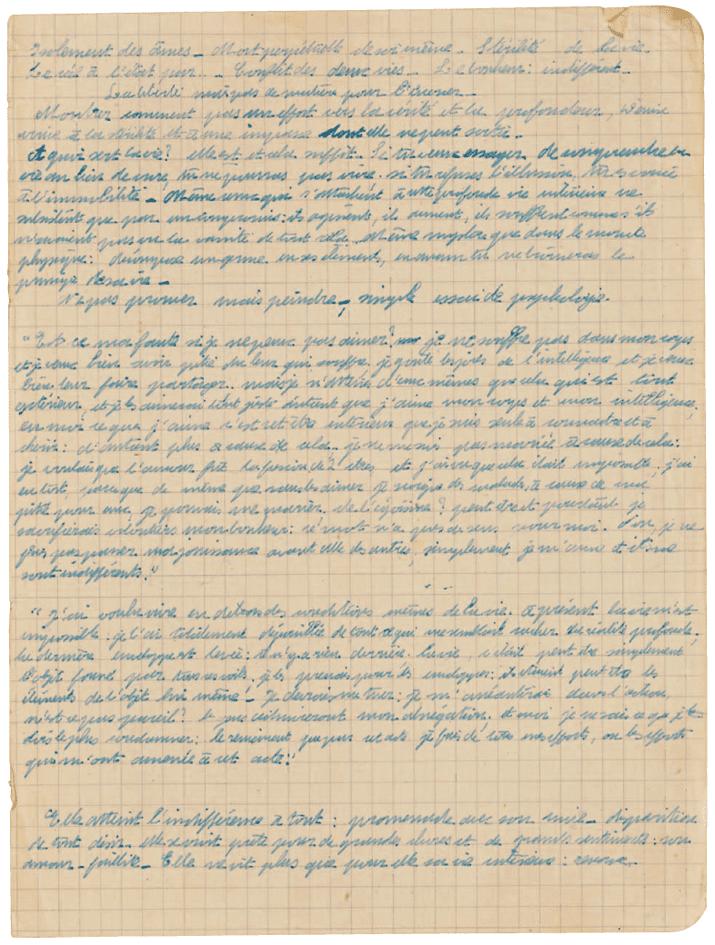 Simone de Beauvoir, As mulheres também choram 5