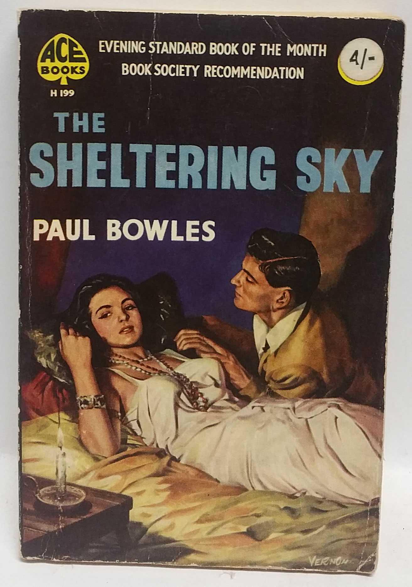 0004263 - Paul Bowles, Um chá no deserto do nosso descontentamento