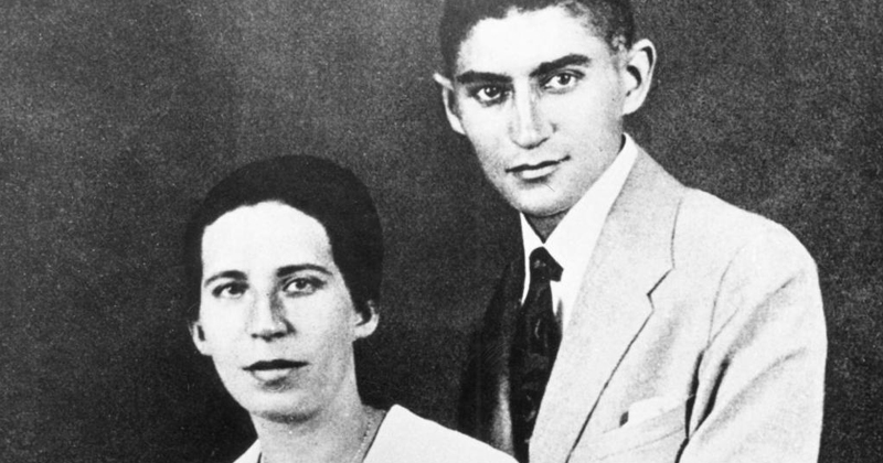 Postcard 1, Kafka and Milena, prophecies and premonitions