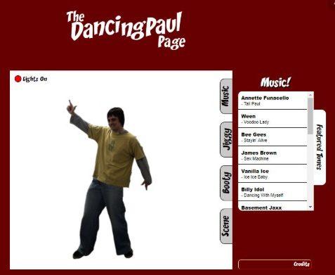 Dancing Paul - O (ciber)espaço múltiplo e solitário das interfaces digitais