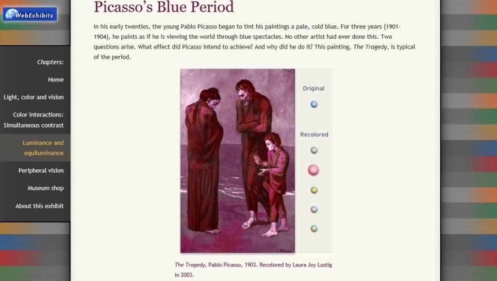 Picasso 1024x579 - O (ciber)espaço múltiplo e solitário das interfaces digitais