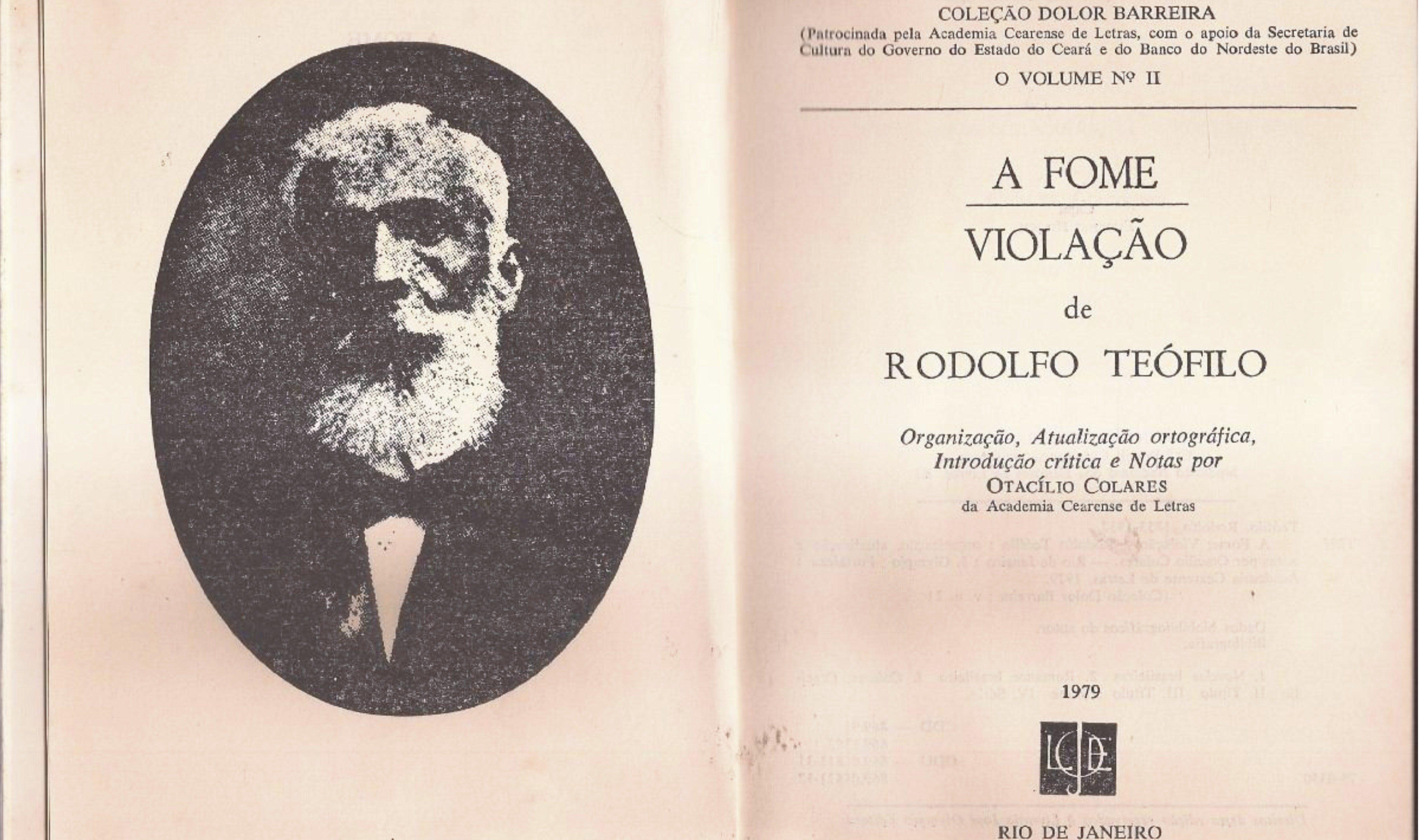 A bruxaria na literatura brasileira (1): A fome, de Rodolfo Teófilo