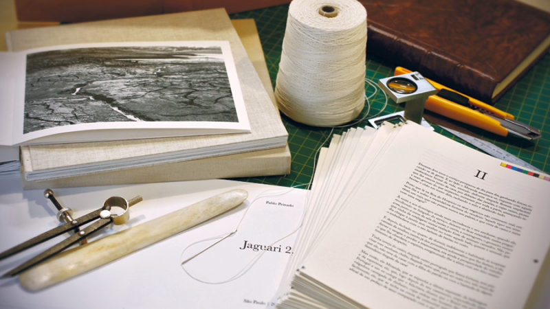 Livro artesanal devia ser coisa de comer