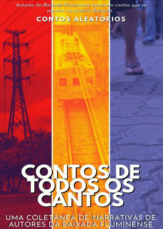 capa - Aleatórios realiza lançamento on-line de coletânea sobre cidades da Baixada Fluminense