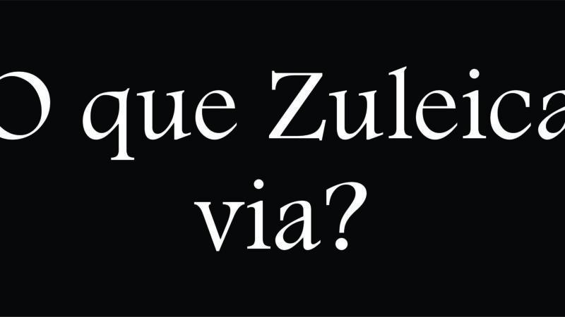 [Conto] O que Zuleica via