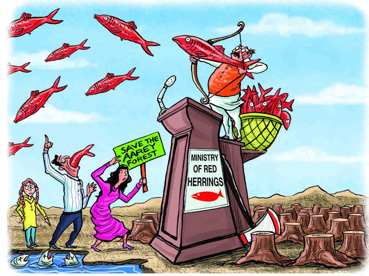 """O conceito de """"red herring"""" e nossas cortinas de fumaça"""