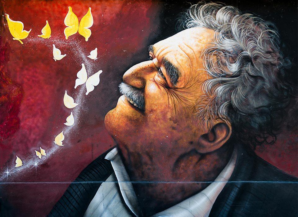 gabriel garcia marquez gabo mural - O real maravilhoso e o realismo fantástico sob os olhares do hoje