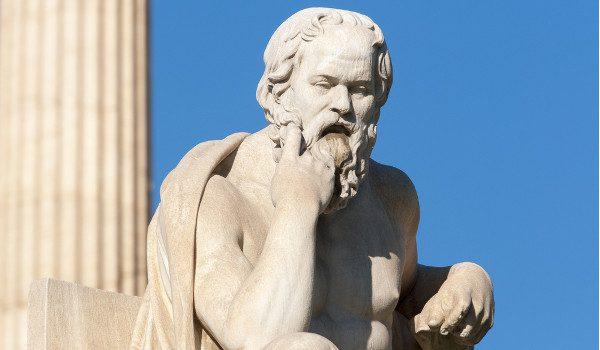 Sócrates, personagem de Platão ou o Xaropinho platônico