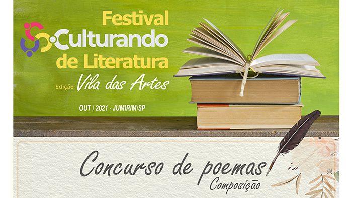 Festival Culturando de Literatura: poesia, prêmios e companhia