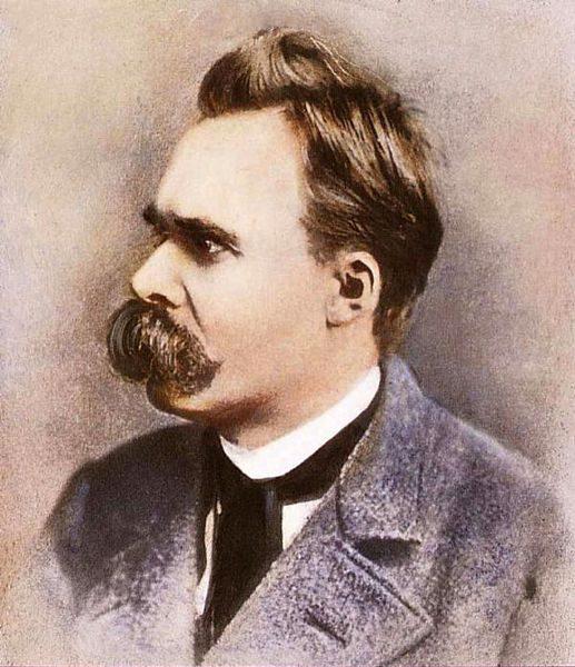 517px portrait of friedrich nietzsche - O encontro (real) entre Nietzsche e Dom Pedro II