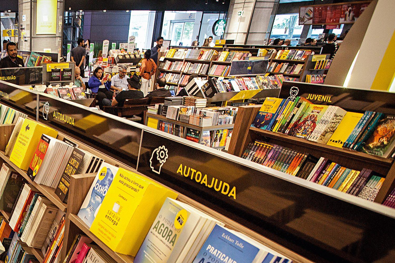 Sugestões de novas categorias em livrarias
